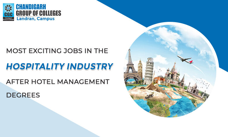 JOBS IN THE HOSPITALITY INDUSTRY